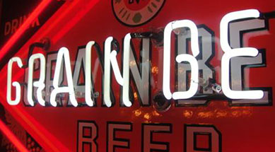 Grain Belt Neon Beer Sign Restoration