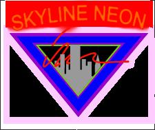 skyline sign neon - photo #48